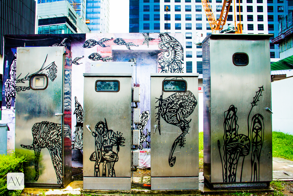 street art, Bonifacio Global City, Philippines
