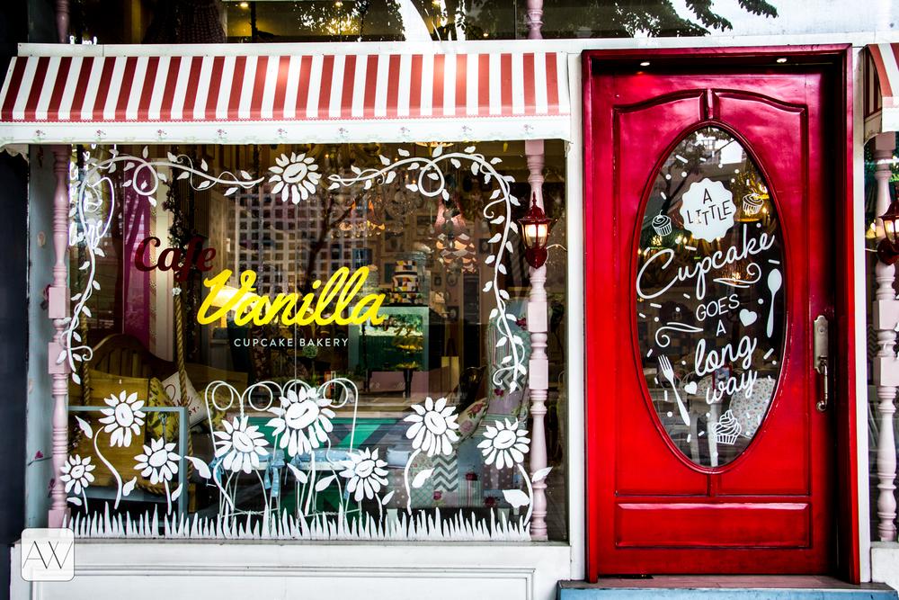 Vanilla Cupcakes, Bonifacio High Street, Philippines