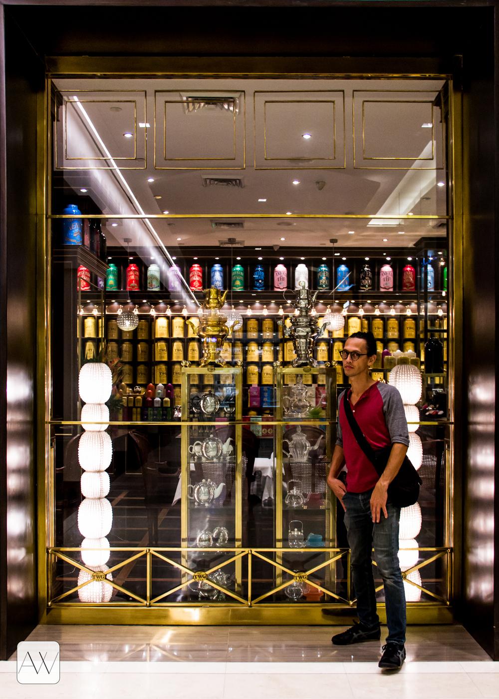 tea boutique, Bonifacio Global City, Philippines