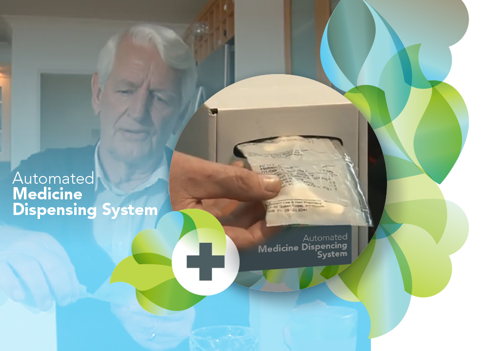 Automated Medicine Dispensing System - This is a modern, versatile medication system that assists in dispensing and taking the RIGHT medicine at the RIGHT time