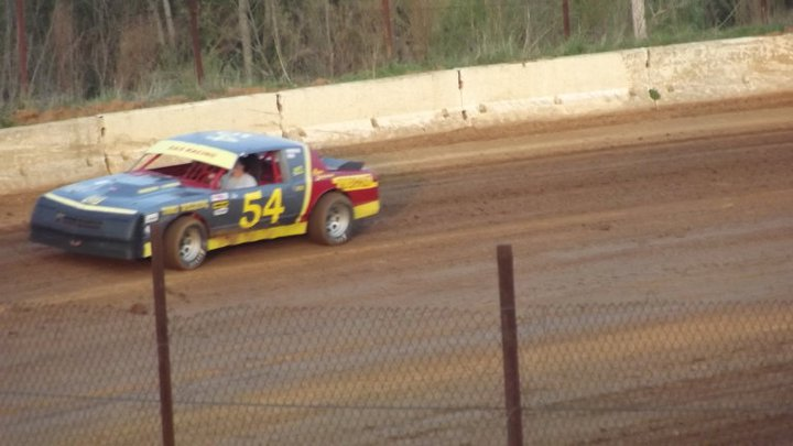 Some of us are still doing some dirt track racing.