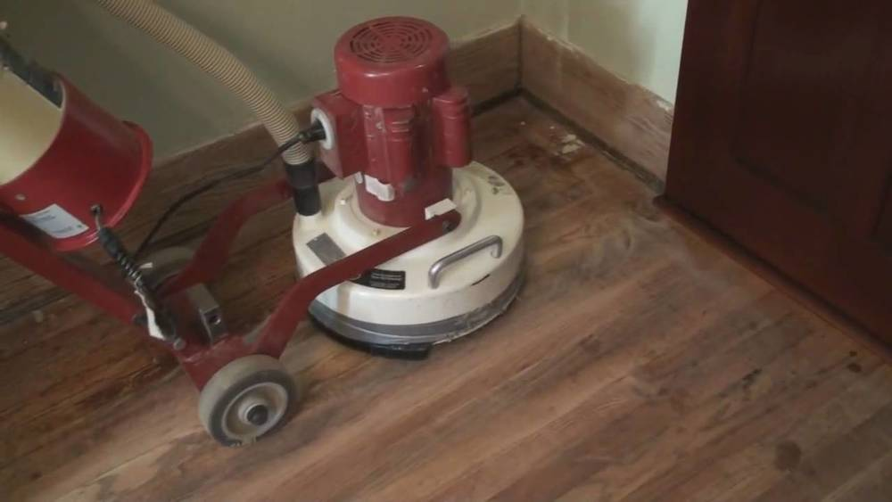 A Typical Orbital Sander