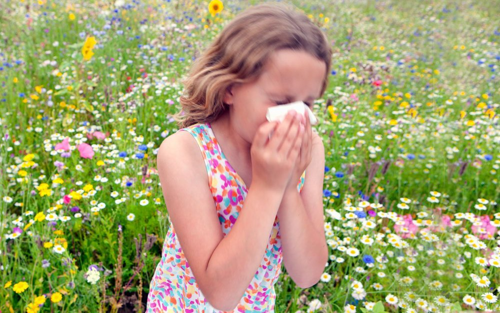 Allergies can be a headache. Literally.