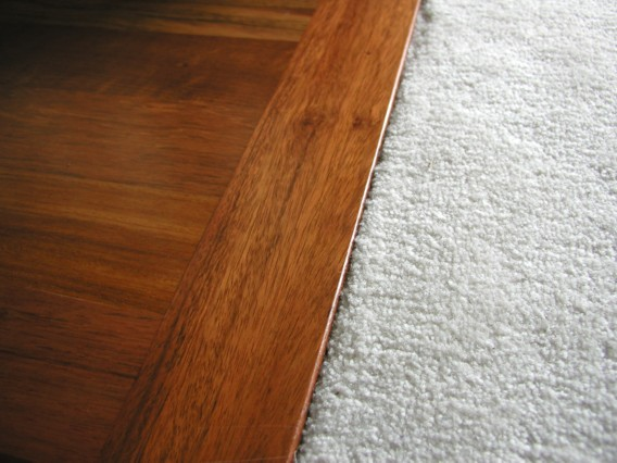 A hardwood floor is going to fetch you a higher sell price.