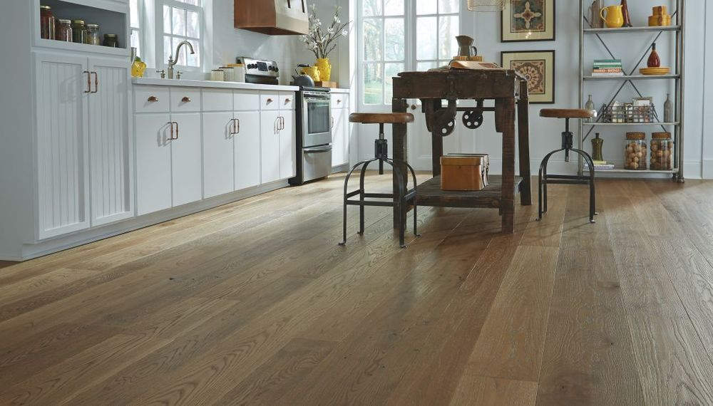 Gorgeous Wide Plank Flooring