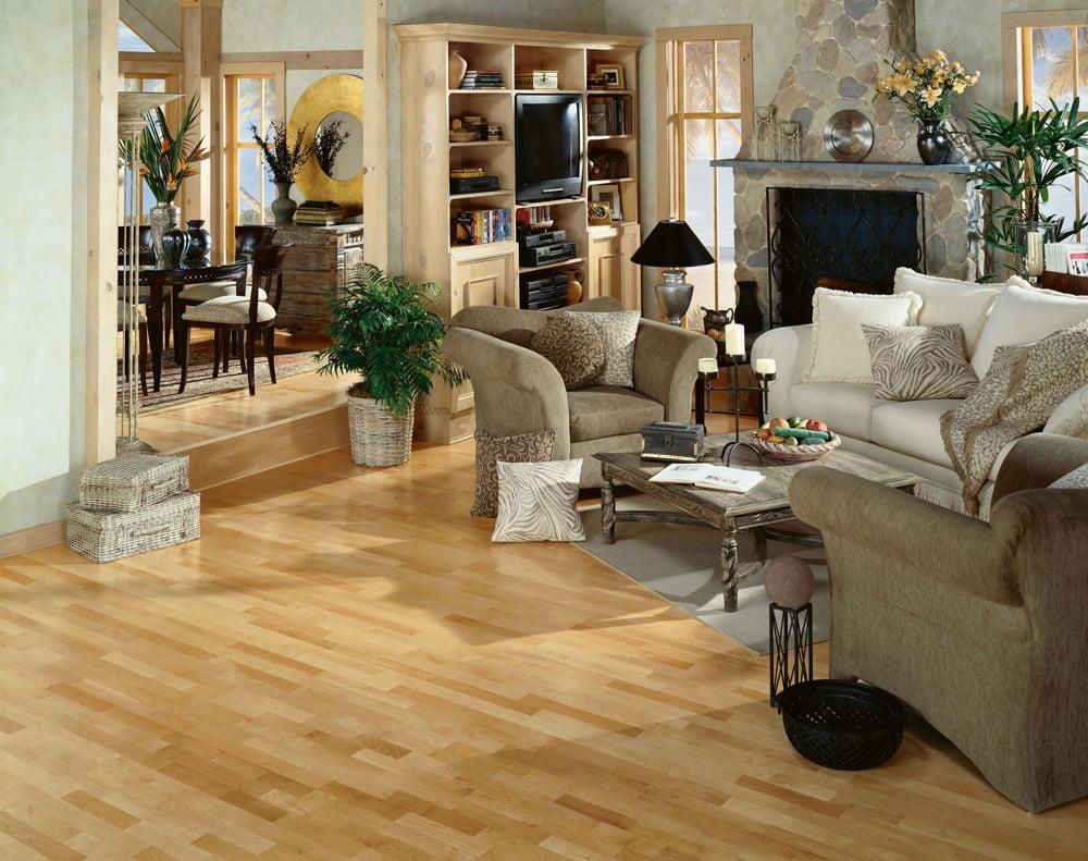 Hardwood Floor Profiles: Maple — Plus Hardwood Flooring - ^