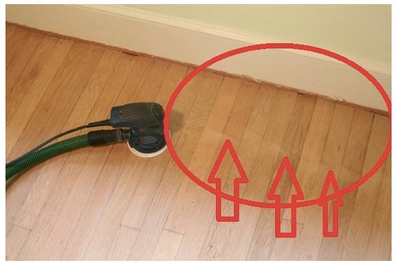 Refinish Hardwood Floors With Orbital Sander Carpet
