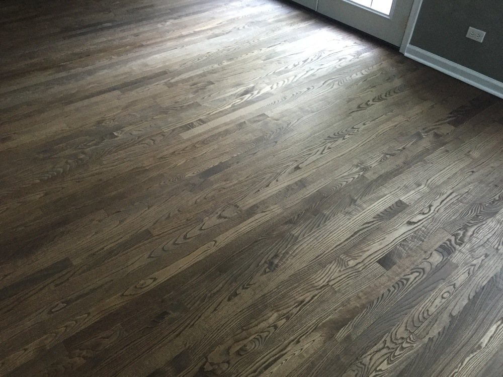dark ash hardwood floors