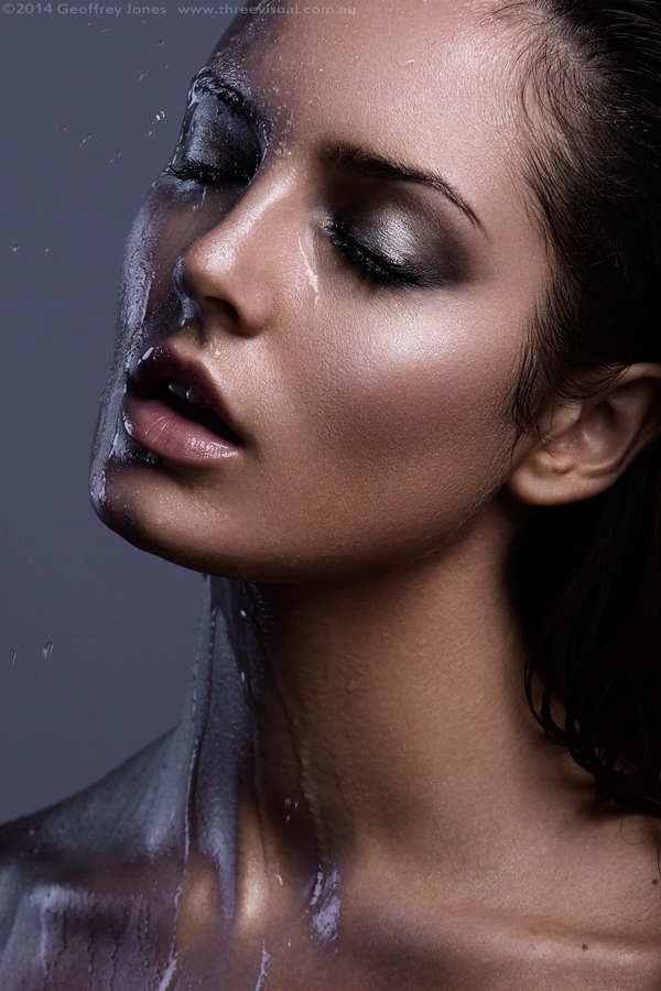 Chloe Morello. Makeup by Mary Li.