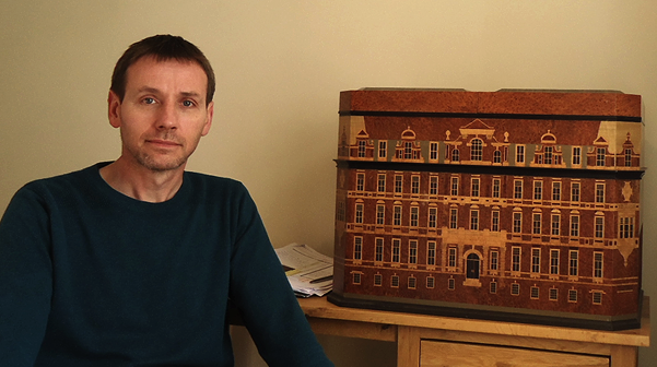 Design and construction of the Hotel Du Vin, Birmingham, Cigar Humidor.