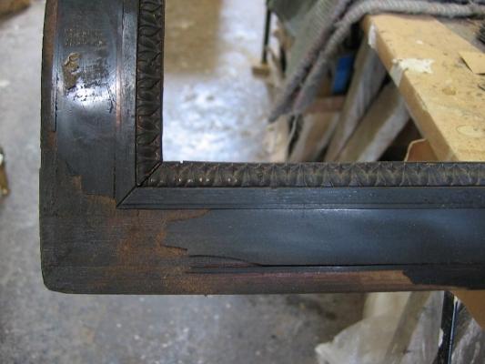 Door frame front