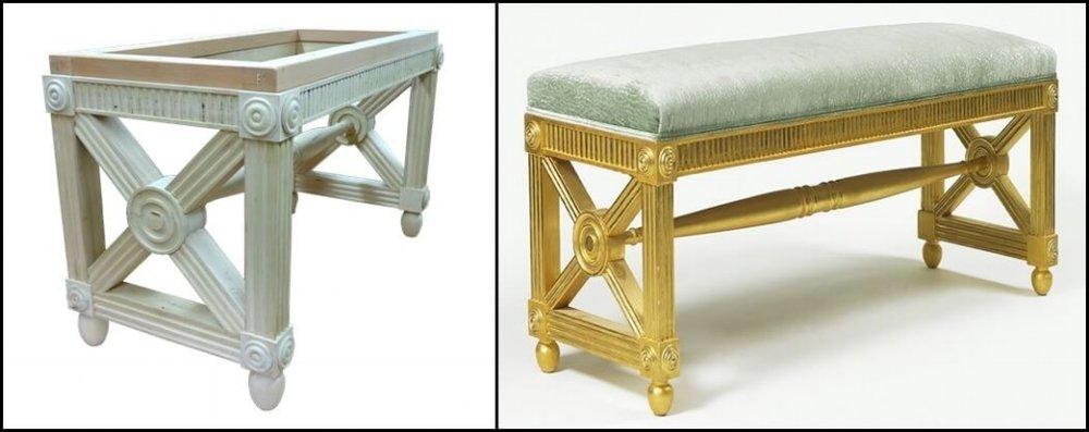 Gilt stool
