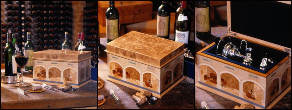 Wine cellar box