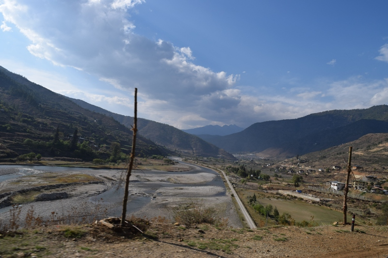 Entering Paro Valley