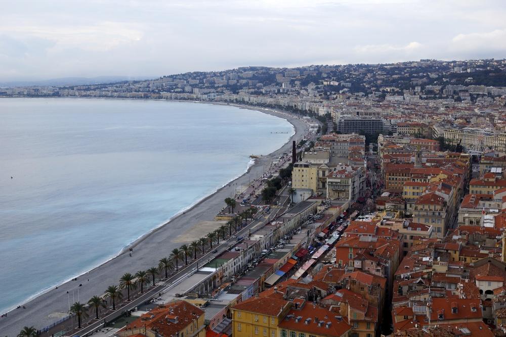 Overlooking Nice