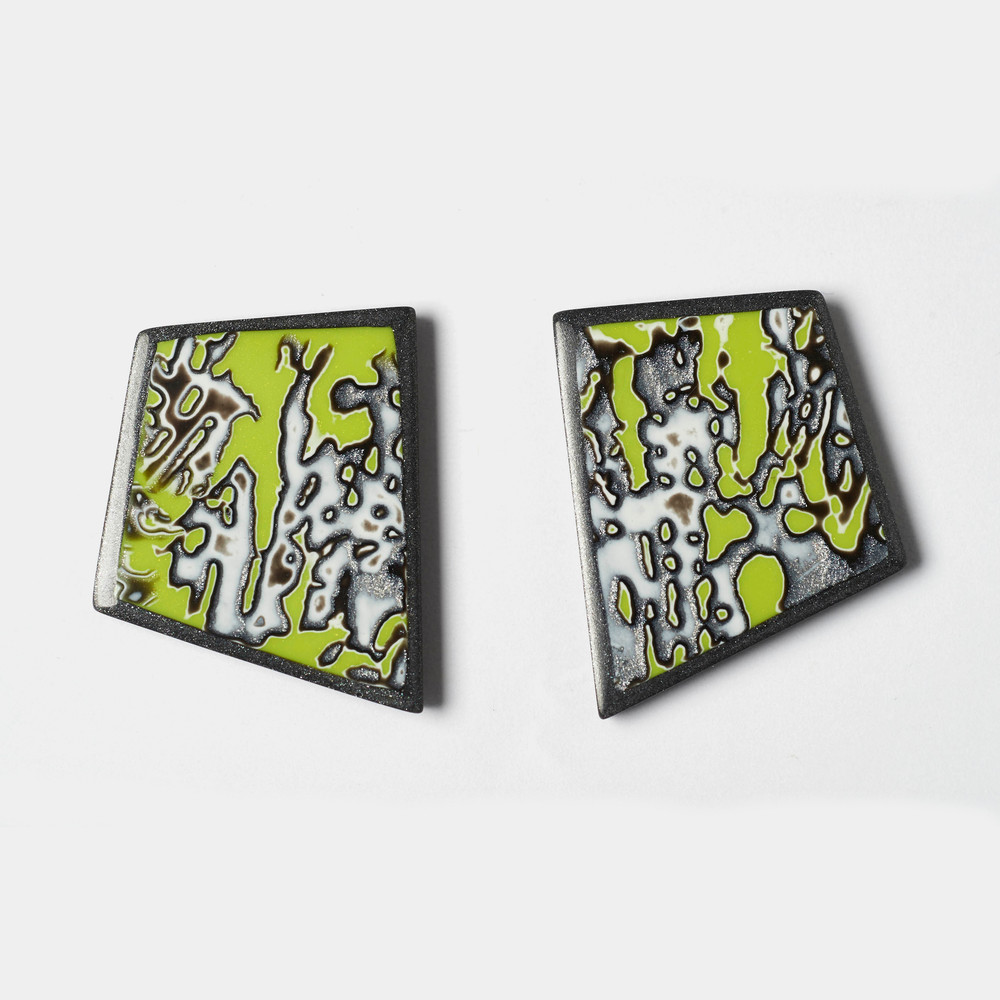 Melanie Muir Chartreuse Geo Earrings.jpg