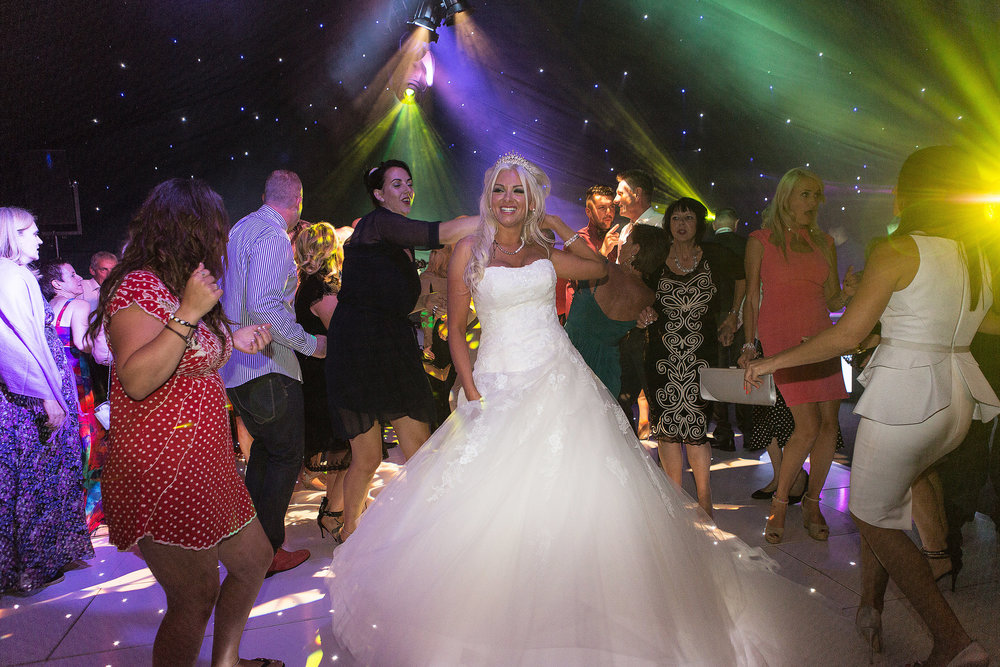Wedding Videography Still - Leah on the dance floor