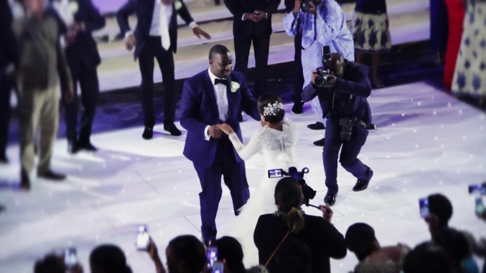 Wedding Videography Still - Kike & Tayo on the dance floor