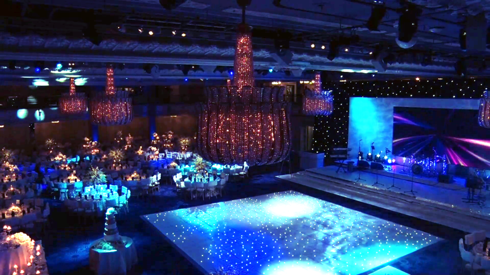 Wedding Videography Still - The reception at the Grosvenor House