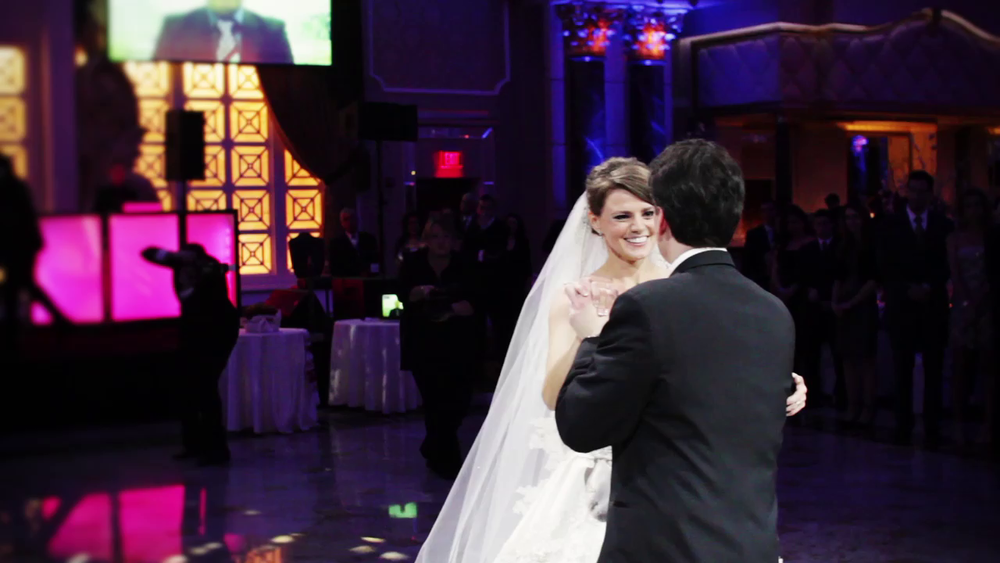 Wedding Videography Still - The bride and groom