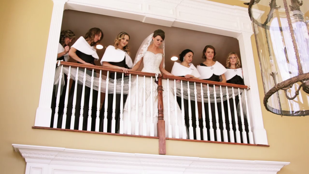 Wedding Videography Still - The bride and bridesmaids