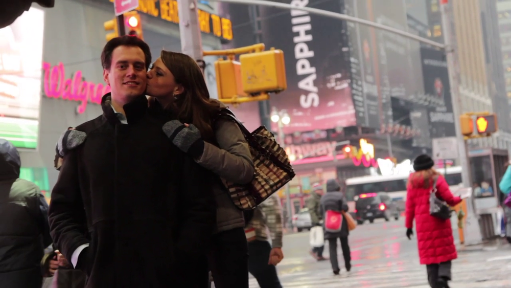 Wedding Videography Still - The bride and groom in New York