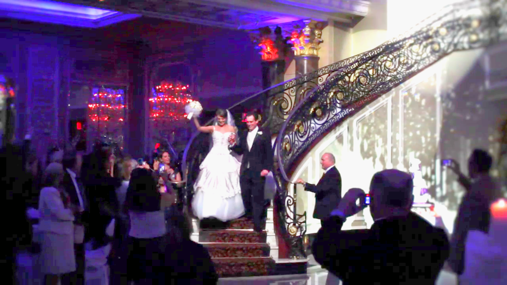 Wedding Videography Still - The bride at the reception