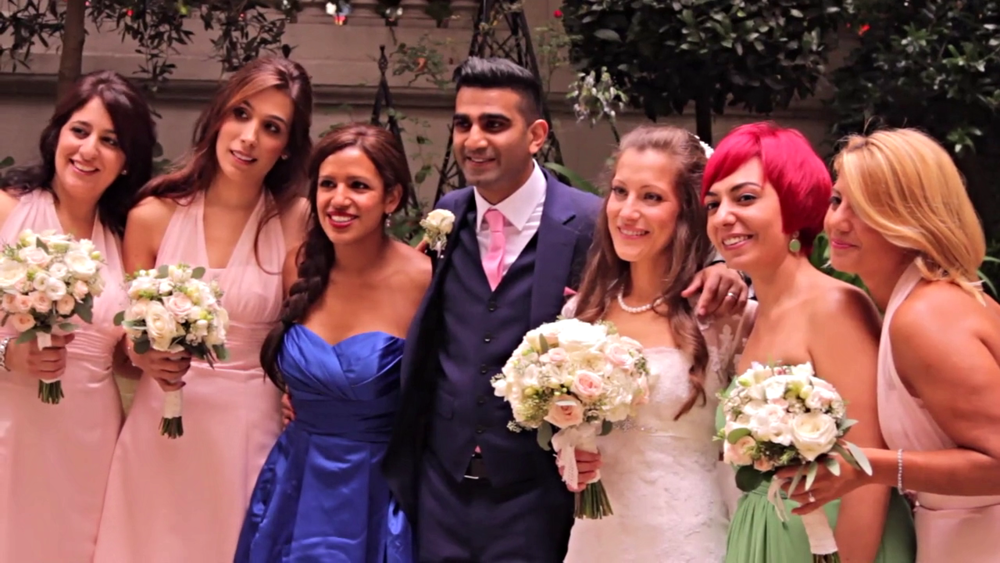 Wedding Videography Still - Imran & Vasoula - The Wedding Party