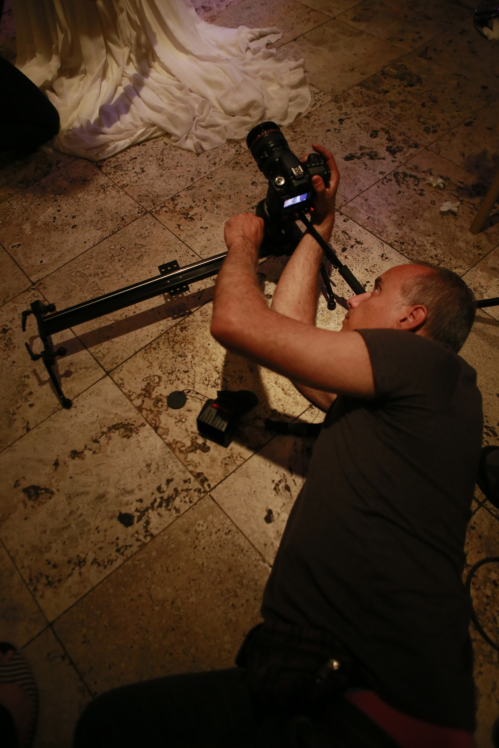 Wedding Videography Still - Imran & Vasoula - Whatever it takes for the perfect shot!