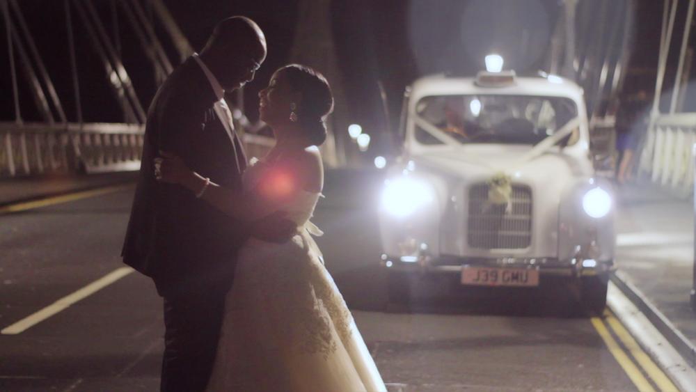 Wedding Videography Still Chelsea Bridge