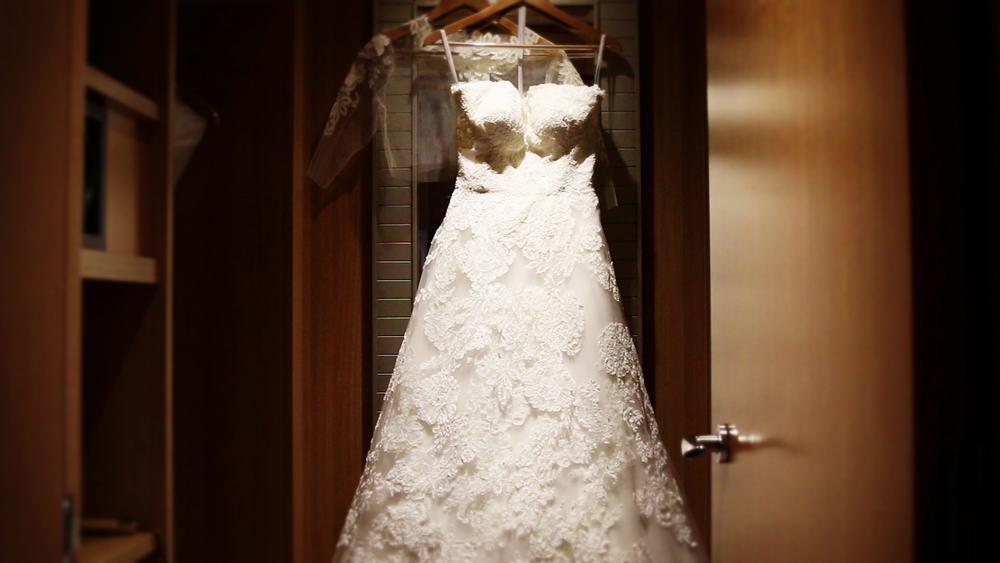 Wedding Videography Still Wedding Dress