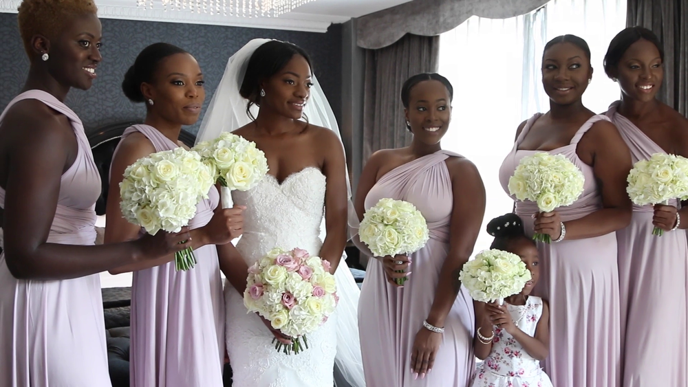 Wedding Videography, Bridesmaids