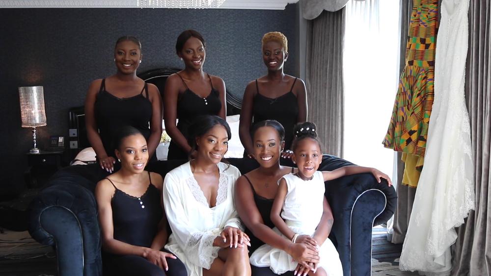 Wedding Videography Bridesmaids Hilton Hotel London