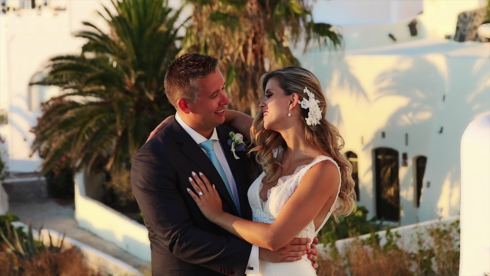 Wedding Videography in Santorini