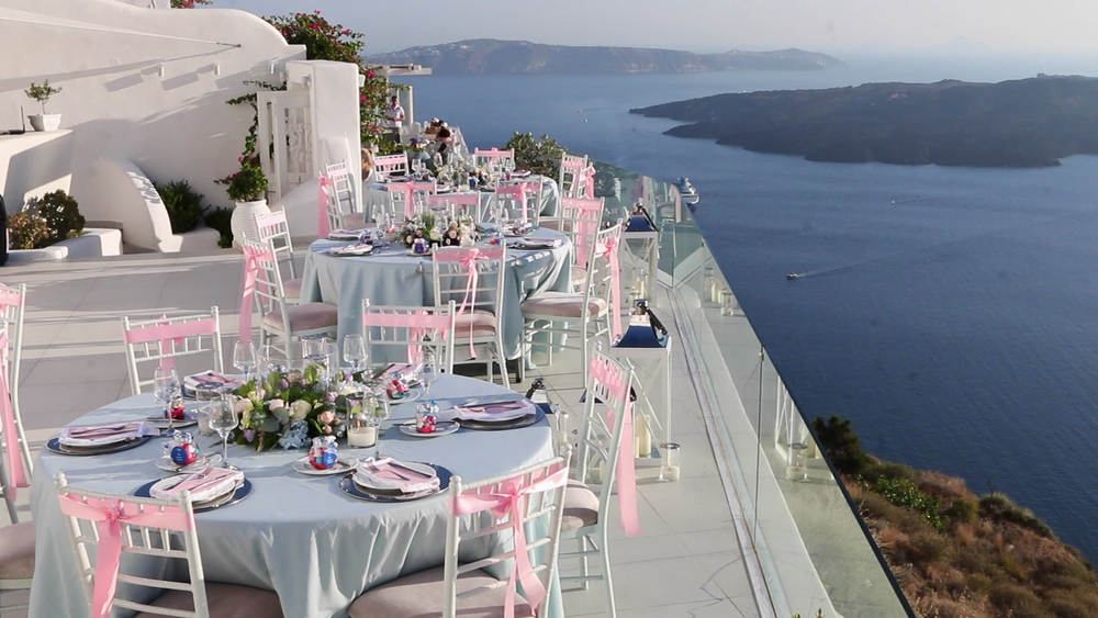 Wedding Videography Santorini - Dana Villas Wedding Venue