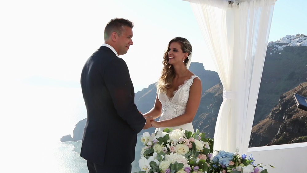 Wedding Videography Santorini - Wedding Vowels