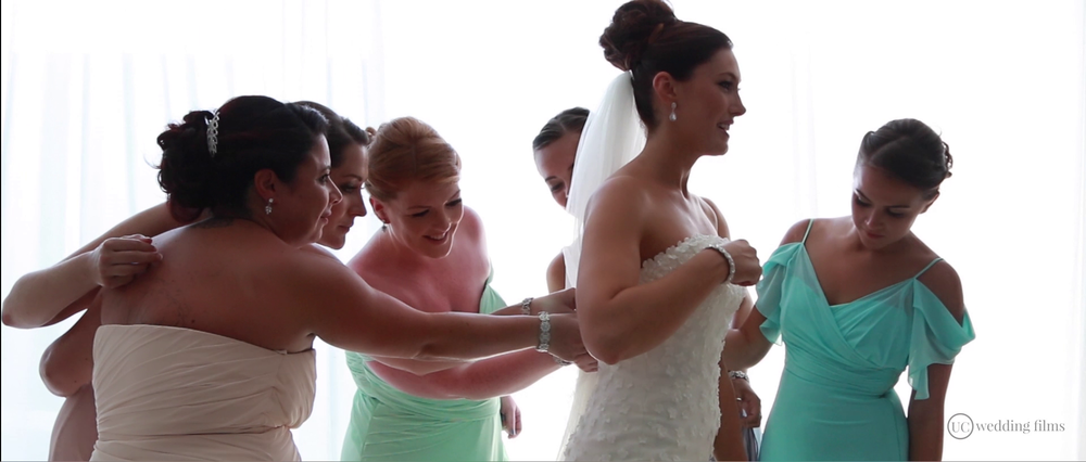 Wedding Videography Still - Bridesmaids