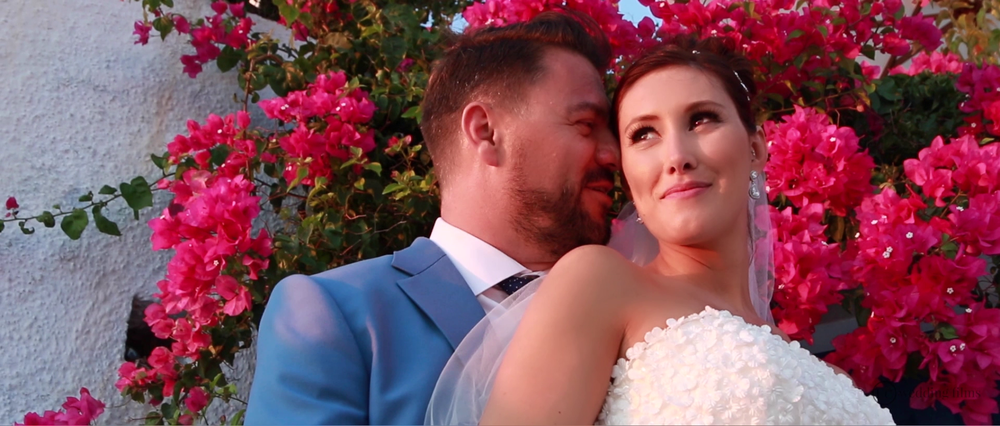 Wedding Videography Still - Santorini