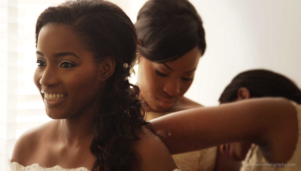 Wedding Videography Still - Bide's Preparation