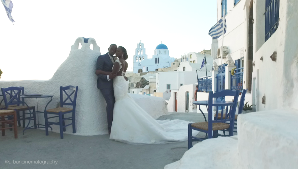 Santorini Nigerian Wedding Videographer