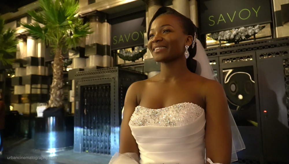 The Savoy Hotel Wedding Videography