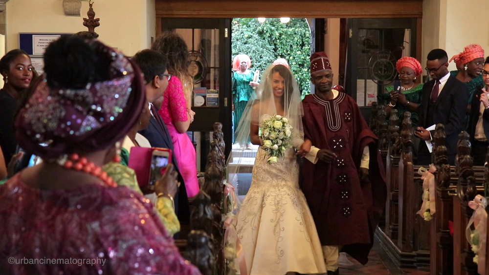 Nigerian wedding videographer