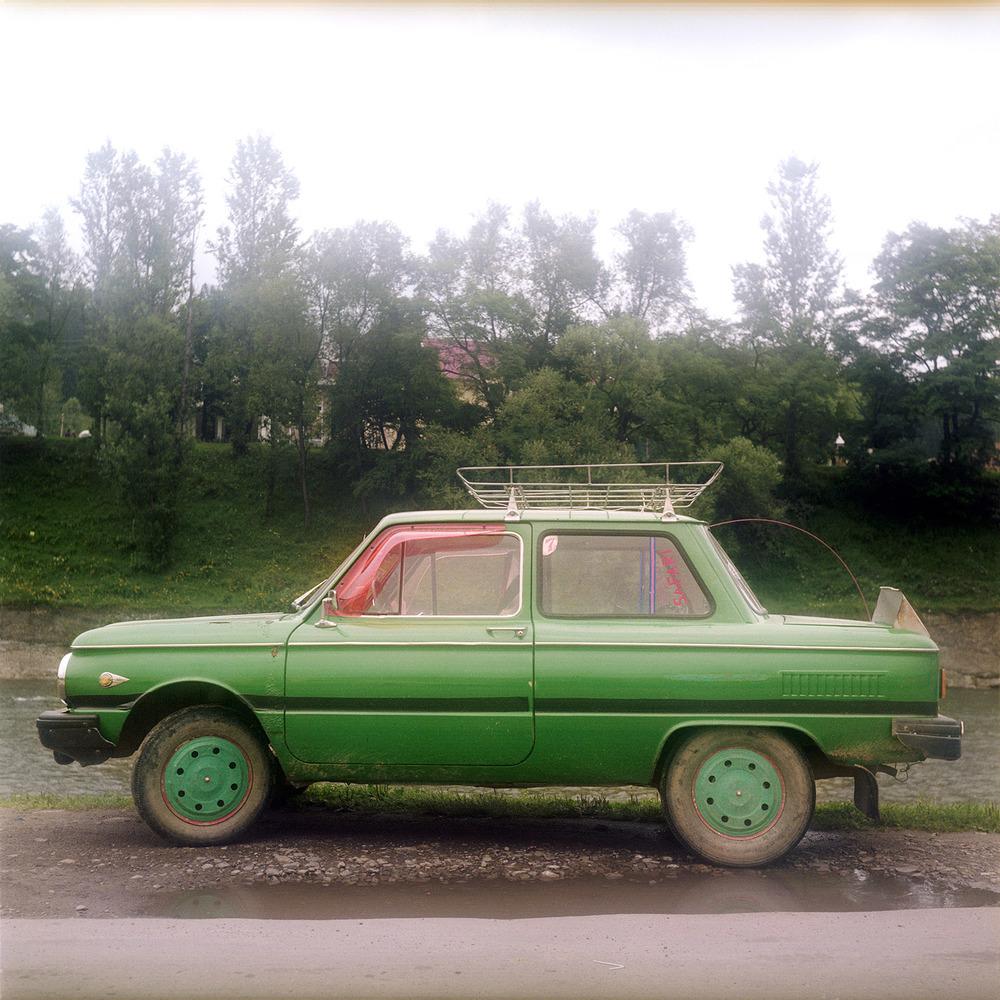Grön Lada. Ukraina.