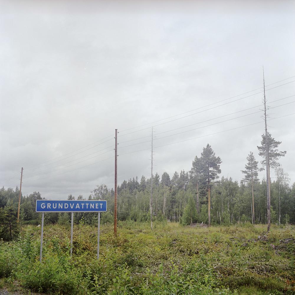 Här finns grundvattnet. Norrbotten.