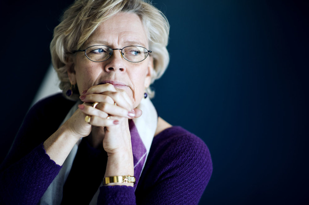Carola Lemne, vd för Svenskt Näringsliv, för Dagens Samhälle.