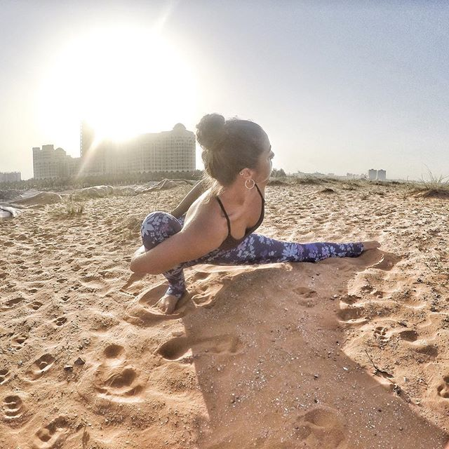 Do not wait to strike till the iron is hot; but make it hot by striking ~W.B.Yeats~  #MoveAdaptEvolve #yogainspirtation #movement #love #life #fit #fitness #exercise  #yogaeverydamnday #yoga #inspiration #pilates #instagood #life #stretching #dance  #workoutmotivation #sea #sand #beach #yogalove #wellness #yogini  #yogaeverywhere  #instayoga #onebreathatatime  #igyoga #yogainspiration #iloveyoga #yogaeverydamnday
