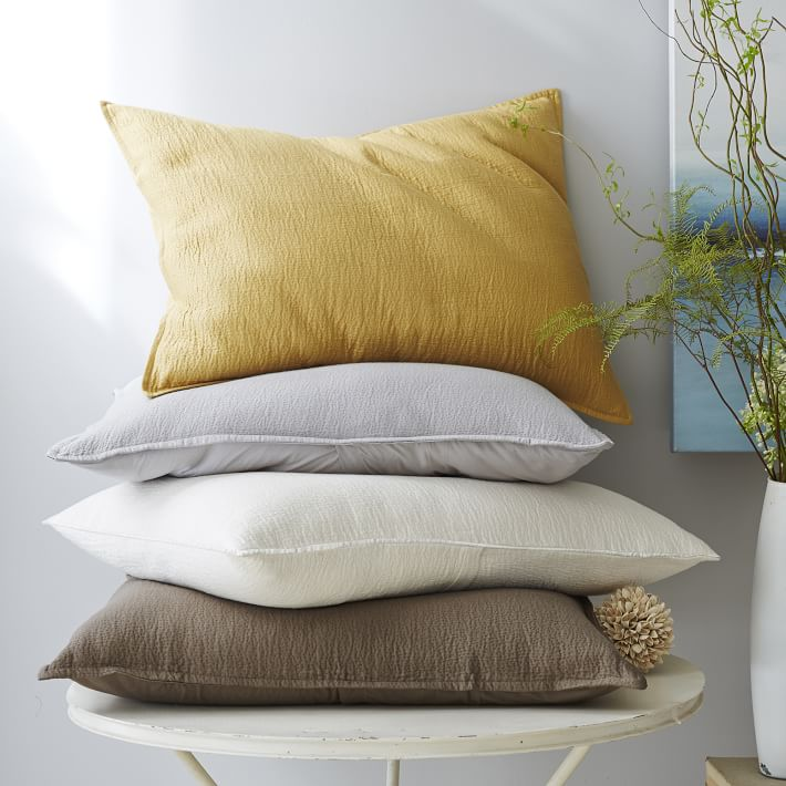 organic fabric pillows