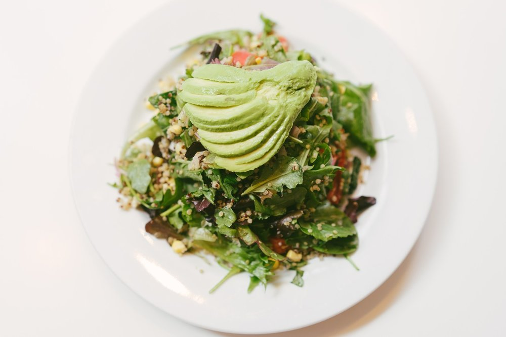 Fluffy Quinoa Salad_Peacefood Cafe_NYC_vegan.jpg