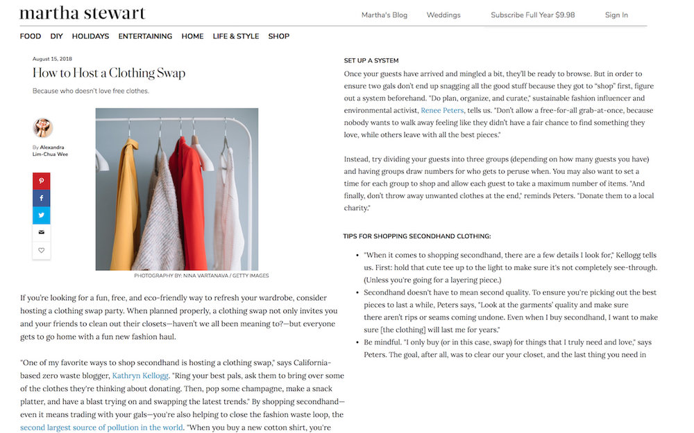Renee Peters_Martha Stewart Living_Clothing Swap_Model4greenliving Press.jpg