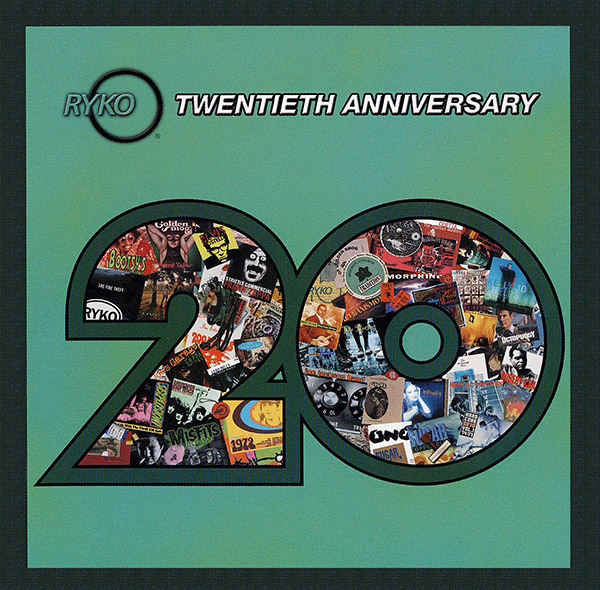 People forget what a great label Rykodisc was - the titles and artists shown in the cover to our 20th Anniversary set serve as a nice reminder.